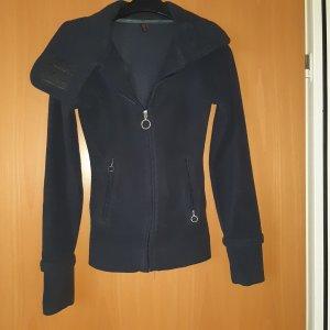 DITO : Fleecweste mit Kapuze dunkelblau Größe M