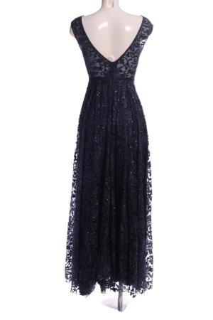 Diva Vestido de baile azul elegante