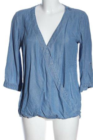 diverse Blouse en jean bleu style décontracté