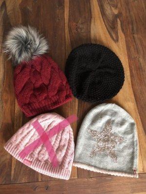 diverse Chapeau en tricot multicolore