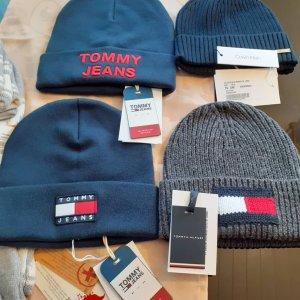 Tommy Hilfiger Gorro puntiagudo azul Lana