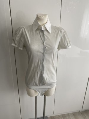 Divina Body koszulowe jasnoszary-biały