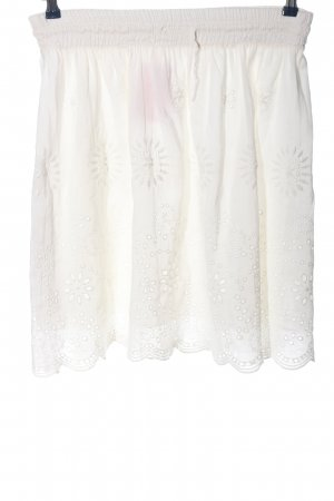 Divina Flared Skirt natural white casual look