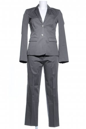 Divina Trouser Suit light grey business style