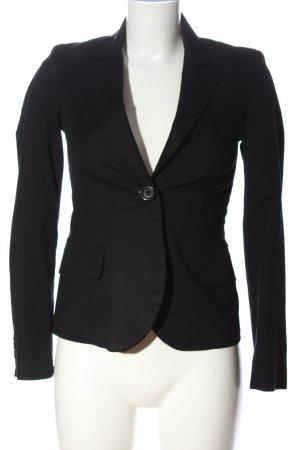 Divina Short Blazer black business style