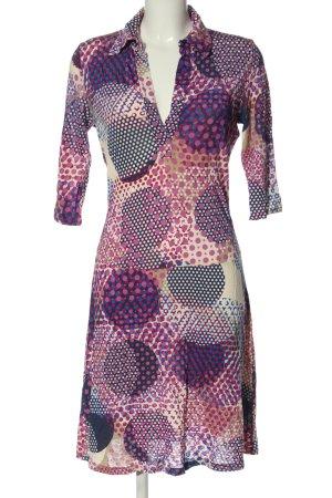 Divina Shortsleeve Dress spot pattern casual look