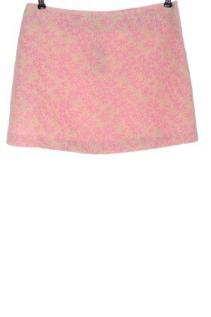 Divina Miniskirt cream-pink allover print casual look