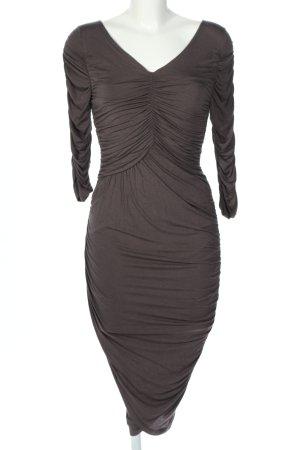 Divina Stretch Dress brown elegant