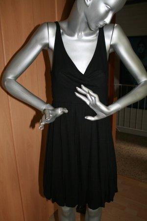 Divina Balloon Dress black viscose