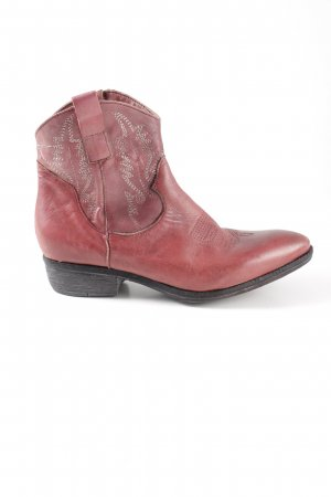 Divine Follie Ankle Boots rot Casual-Look