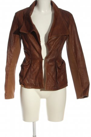 Dixie Biker Jacket brown casual look