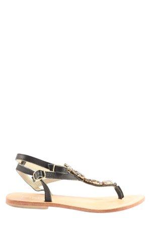 Dixie Sandalo Dianette nero elegante