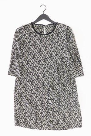 Dixie Kleid schwarz Blumenmuster Größe 36