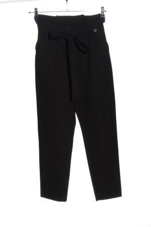 Dixie Pantalon en jersey noir style d'affaires