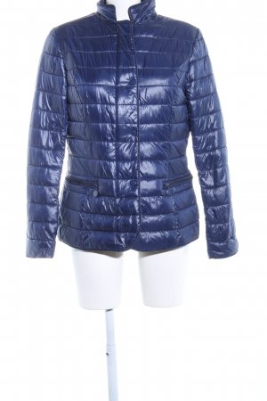 DJ85°C Quilted Jacket blue quilting pattern casual look