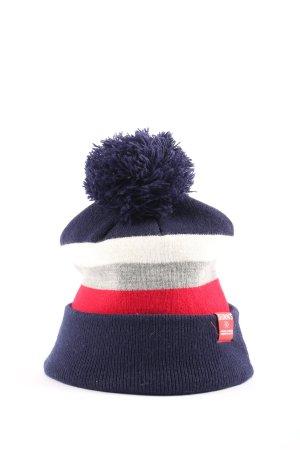 Djinns Knitted Hat striped pattern casual look