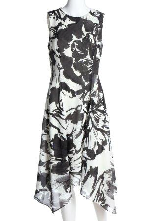 DKNY A-Linien Kleid abstraktes Muster Casual-Look