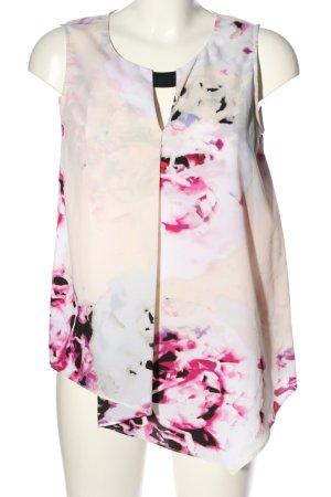 DKNY Blouse sans manche motif de fleur style décontracté