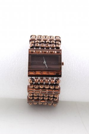 DKNY Analoog horloge brons zakelijke stijl