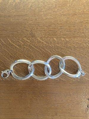 DKNY Bracelet en argent argenté