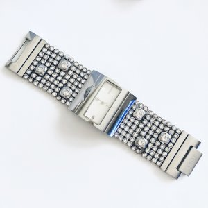 DKNY Armbanduhr NY3746 Strass Silber Armband Uhr