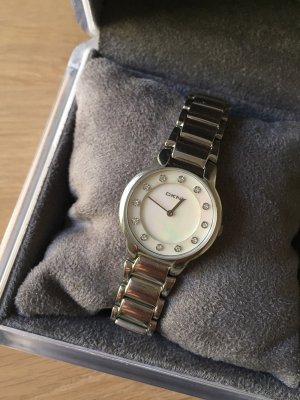 DKNY Reloj con pulsera metálica color plata-rosa