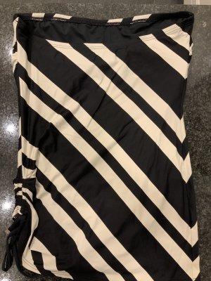 DKNY Costume da bagno beige chiaro-nero Nylon
