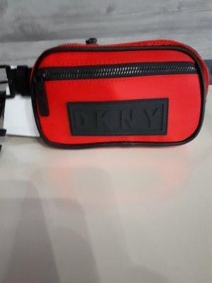 DKNY Riñonera negro-rojo