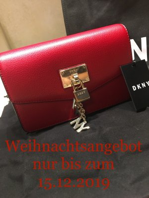 DKNY Bumbag red-gold-colored leather