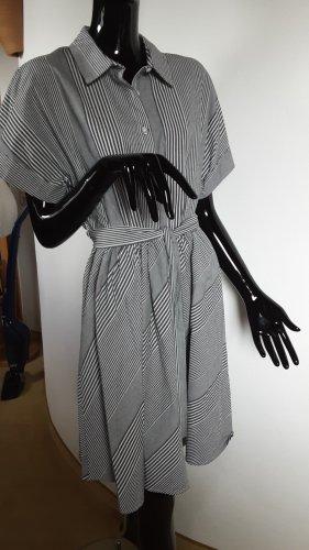 DKNY Abito a maniche corte bianco-grigio