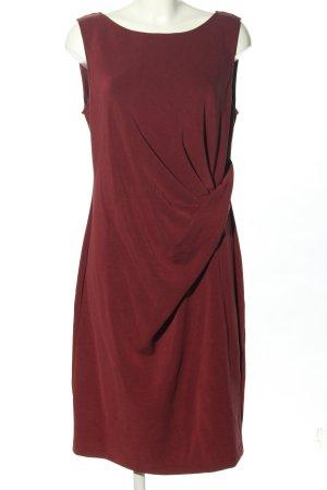 DKNY Abito longuette rosso stile professionale