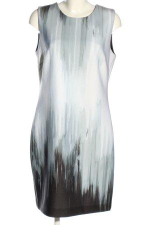 DKNY Abito longuette bianco-nero Colore sfumato stile casual