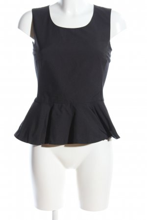 DKNY Blouse topje zwart casual uitstraling