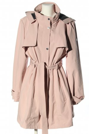 DKNY bodenlanger Mantel pink Casual-Look