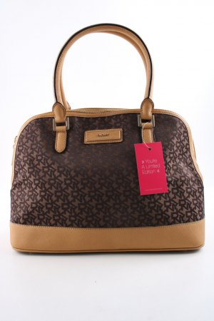 DKNY Bowlingtasche Allover-Druck Casual-Look