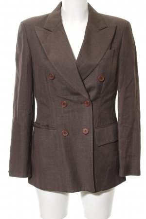 DKNY Boyfriend-Blazer braun Business-Look
