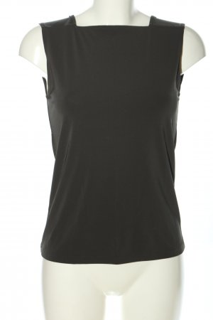 DKNY Camisole zwart casual uitstraling