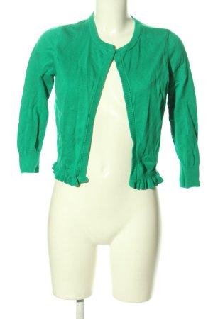 DKNY Cardigan grün Casual-Look
