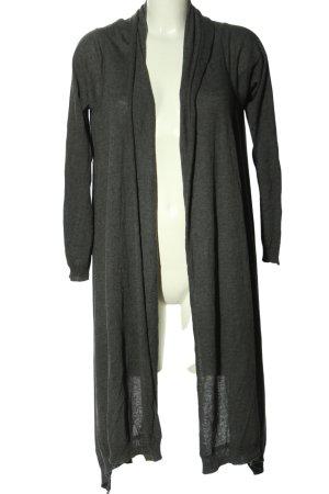 DKNY Cardigan hellgrau meliert Casual-Look