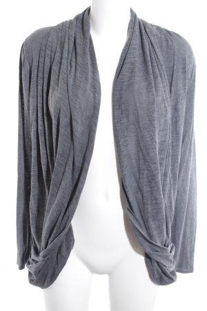 DKNY Cardigan dunkelgrau-grau meliert schlichter Stil