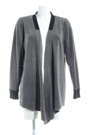DKNY Cardigan grau-schwarz Casual-Look