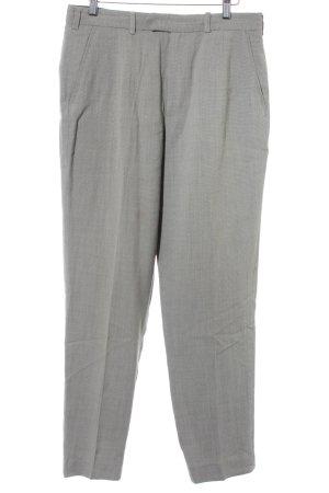 DKNY Pantalon chinos noir-beige motif à carreaux style décontracté