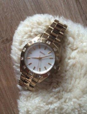 DKNY Chronograph Uhr Gold