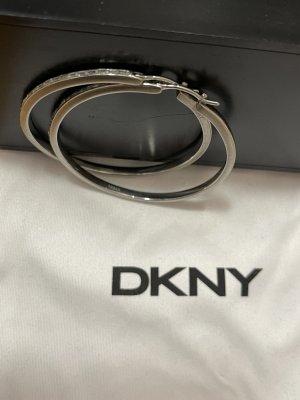 DKNY Créoles gris