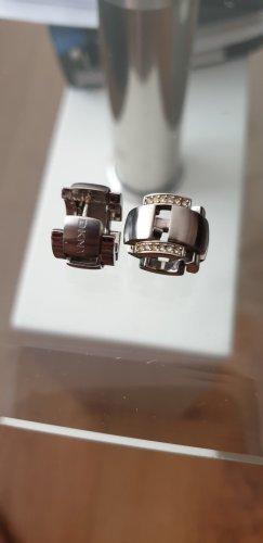 DKNY Orecchino a cerchio argento