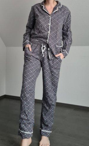 DKNY Pijama gris-gris oscuro