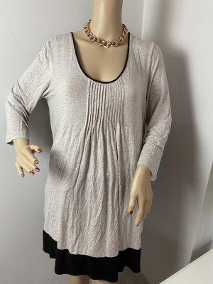 DKNY Blusa Camisa color plata tejido mezclado