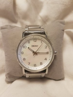 DKNY Damen Uhr silber Armbanduhr