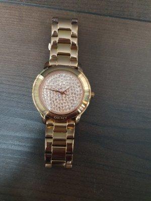 DKNY Orologio analogico color oro rosa