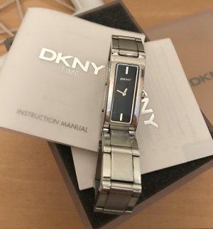DKNY Orologio con cinturino di metallo grigio chiaro-nero Acciaio pregiato